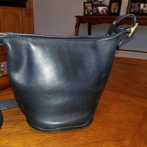 Small Coach leather shoulder bag